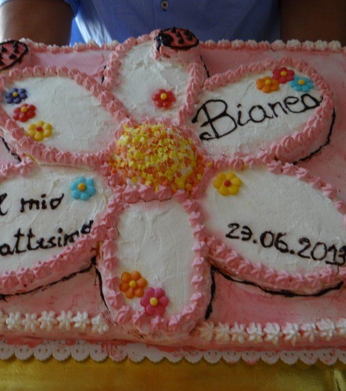 Torta Fiore Battesimo
