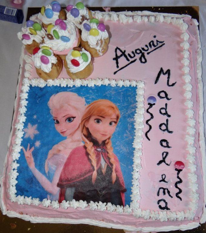 Torta Elsa e Anna