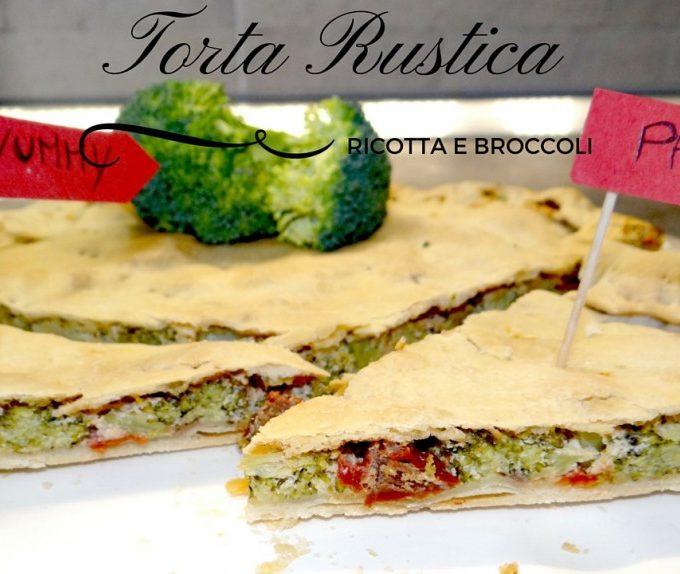 Torta rustica Ricotta e Broccoli
