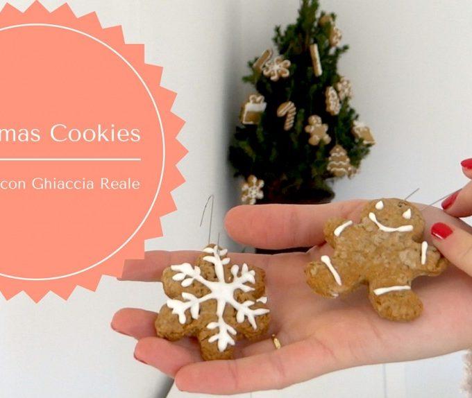 Decorazione Biscotti di Natale con Ghiaccia Reale