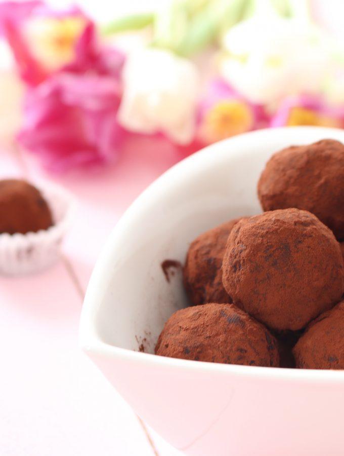 Tartufini RawVegan al Cioccolato e Frutta secca