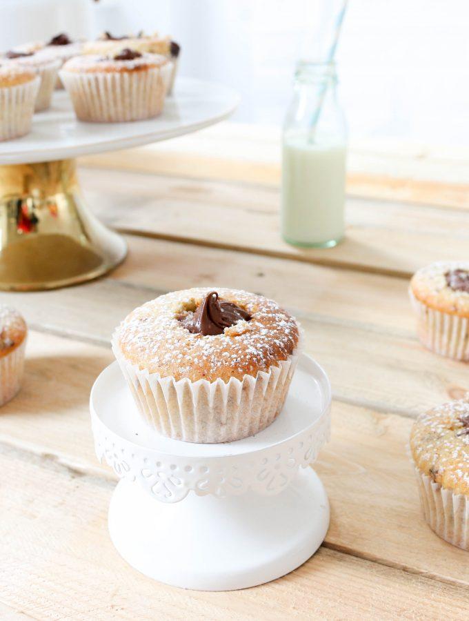 Muffin con cuore morbido di Cioccolato