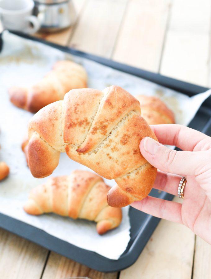 Croissant | Senza burro e senza uova