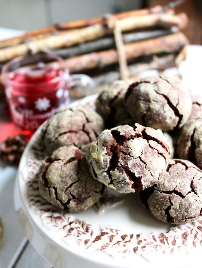 Crinkles al cioccolato senza burro e senza uova